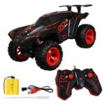 2.4G Cool Light Stunt Climbing Car Spray Drift Remote Control RC Off-road Car Toy
