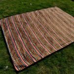 Ethnic Style Outdoor Waterproof Lawn Pad Picnic Mat Moisture-proof Mat Picnic Beach Sleeping Floor Pad