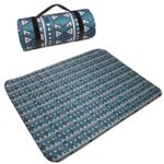 Outdoor Camping Mat Fashion Nation Style Printed Thickened Portable Moisture-proof Mat For Family Picnic Beach Child Playing Pad