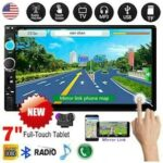 Car Stereo Radio HD MP5 Player 2DIN Touch Screen Bluetooth USB TF AUX IN