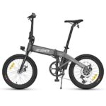 HIMO Z20 20 Inch Folding Power Assist Electric Bicycle 80KM 10AH Removable Battery E-Bike Bike with Mudguard Inflation Pump