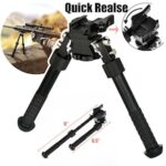Rifle Bipod Quick Detach Mount 6.5-9 Adjustable Fit 20mm Picatinny Rail