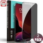 2X Privacy Tempered Glass Full Cover Screen Protector