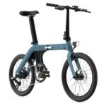 FIIDO D11 Folding Electric Moped Bicycle 20 Inches Tire 25km/h Max Speed Three Modes 11.6AH – Blue