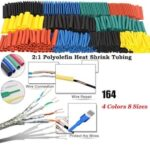 164/328 pcs Set  Heat Shrink Tube Assorted Insulation Shrinkable Tube Wire Cable Sleeve Kit can Dropship