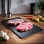 1PC Fast Defrosting Tray Quick Thaw Frozen Food Meat Fish Plate Board Kitchen Rapid Defrost Tool