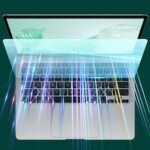 Laptop Screen Protector Anti Blue Ray Tempered Protective Film for Notebook Macbook Air 2020 13.3 Green Light