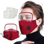 Mask Polyester Anti-haze Removable Mask Recyclable with Filter