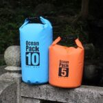 Waterproof Bag Swimming Bag Drifting Beach PVC Mesh Outdoor Waterproof Bucket Barrel Cover Sand Beach Swimming Package