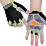 Half Finger Gloves Riding Body Tactics Outdoor Sports Sunscreen Anti-slip Breathable Thin Exposed Finger Half Paste