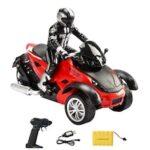 Three-wheeled Motorcycle Off-road Stunts Climbing Remote Control Drift RC Model Toy