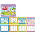Magic Chinese Characters Clear Water Painting Book Reusable Children Album Card