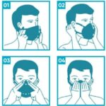 Creative Face Mask 3D design 5-layer Filter Protection Anti-Pollution Adult Face Mouth Mask