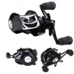 Fishing Water Droplet Wheel Metal 18-axis Magnetic Brake Micro Objects Shallow Line Cup Fishing Reel