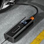 Intelligent Digital Display Car Portable Air Pump 12V Universal Inflatable Pump