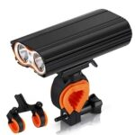 Bicycle Front Lamp T6 Highlight USB Charging MTB Waterproof Riding Bike Light