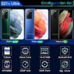 Galay S21+ Ultra 7.2 Inch Smartphone 5800mAh Unlock Global Version 4G 5G Android 10.0 16MP+32MP 12GB+512GB Celulares Smartphone