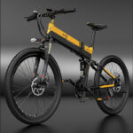 Bezior X500Pro Electric Moped Bicycle Bike 100KM Pedal Assist 48V 500W Motor 10.4AH Battery 26in Wheel 5in LCD Meter