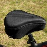 Comfortable Bike Seat Cover Large Wide Gel Padded Bicycle Saddle Cushion for Exercise MTB Road Bicycles