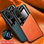 Car Magnetic Holder Phone Covers for Redmi Note 10 Pro Max Case  for Xiaomi Redmi Note 10 Pro Leather Case for Redmi Note 10 Case