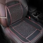R-1456 Breathable Wood Bead Car Waist Pillow Automobiles Seat Support Cover Summer Car Interior