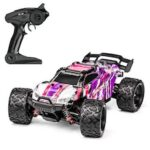 1:18 Remote Control Four-wheel Drive Full-scale High Speed Off-road Vehicle PVC Drift Big Feet Truck Model Toy