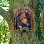 Snicker Boy Design Garden Character Statues Outdoor Funny Statue For Garden Decor Yard Lawn Ornaments
