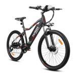 F100 Folding Electric Bicycle 350W 48V 11.6Ah Removable Battery 26 inch Mountain Electric Bike for Adults EU Plug