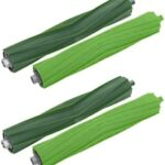Dual Multi-Surface Rubber Roller Brushes Replacement Parts for Irobot Roomba I & E Series I7 Plus I7+ E5 E6 Vacuum Accessories