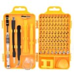 110 In 1 Mini Screwdriver Set of Screw Driver Bit Set Precision Set For Laptops Phone Watch Tablet Electronic Device Repair Hand Tools