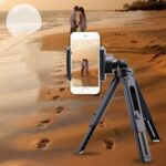 Mini Self Timer Retractable And Convenient Tripod Folding Desktop Camera  Mobile Phone Stand  Mobile Phone Live Broadcast Stand