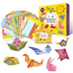 Children Origami Paper Book for Animal Pattern 3D Puzzle DIY Folding Toy Kids Handmade Kindergarten Arts and Crafts Toys