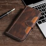 Flip Leather Phone Cover Case Protection Shell with Stand Function for iPhone 11 Serious / iPhone 12 Serious