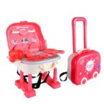 0665 Three-in-One Children Dressing Table Pretend Play Toy 22PCS