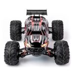 Off-road Crawler Vehicle Alloy Full Scale 1:10 Waterproof Bigfoot 4WD High Speed Model Car Amphibious RC Remote Control Car Toy