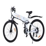Bezior M26 Electric Bike Bicycle 500W Motor 26in Wheel 48V 10AH Battery 25km/h 21-Speed Transmission
