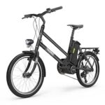 YADEA YT300 20In Electric Bicycle  250W Mid-motor with Rear Rack Height Angle Adjustable7.8Ah Lithium-Battery 7-Speed Gears