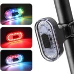 Bicycle Light Waterproof USB Rechargeable Bicycle Taillight MTB Road Bike High Brightness LED Lamp Cycling Safety Warning Light
