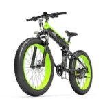 BEZIOR X500 Electric Moped Bicycle Bike 500W Motor 100KM Pedal Assistant 5IN LCD Meter 26IN Wheel 27-Speed Transmission