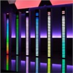 Sound Control Light RGB Voice-Activated Music Rhythm Ambient Light with  Car Home Decoration Lamp