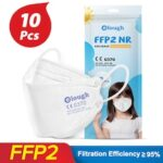 CE0370 mask ffp2 children Kids KN95 Mask Protective Dustproof Breathable CE Reusable Boys Girls Fit 6-14 Years