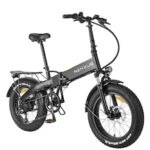 20 Inch 350W Electric Bike Folding  7-Speed Gears Removable 10AH Lithium-Ion Battery E-bike Battery Removable