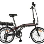 DOHIKER 20 Inch 250W Electric Bike Electric Bicycle Folding Frame 7-Speed Gears Removable 10AH Lithium-Ion Battery E-bike For Commuter