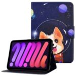 Pattern Printing Stand Card Slots Design Tablet Leather Case Cover for iPad mini (2021) – Dog