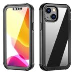 All-Round Protection Anti-Fall Anti-Fingerprint Scratch-Resistant PC TPU PET Hybrid Case for iPhone 13 mini 5.4 inch