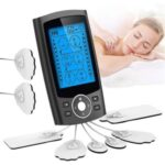 High-quality Electronic Pulse Massager Muscle Stimulator for Pain Relief Therapy with 24 Modes – Black/EU Plug