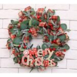 Various Styles Christmas Xmas Wreath Garland for Shopping Mall Porch Decor – A Style