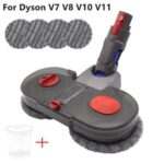 Electric Mop Set Cleaner Wet and Dry Dual-use Vacuum Cleaner Attachment for Dyson V7 V8 V10 V11 – Grey