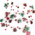 For Wedding Party Outdoor Christmas Decorative LEDs Fairy Wire Hanging String Lights